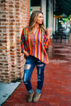 Feel In Love Button Up Top - West Avenue