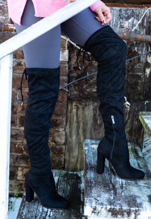 The Miami Thigh High Boot - West Avenue