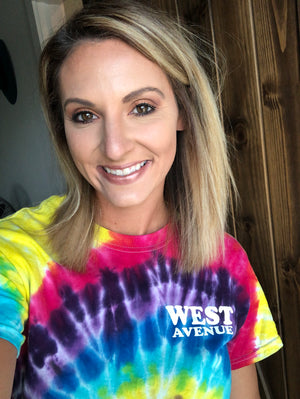West Ave Tie Dye Tee - West Avenue