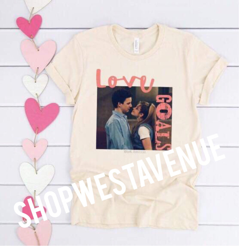 Love Goals Tee - West Avenue