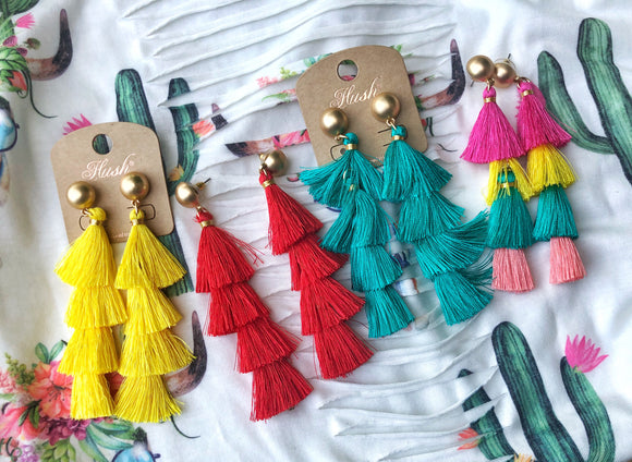 Fiesta Earrings - West Avenue