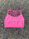 Hot Pink/ Neon Pink Bralettes - West Avenue