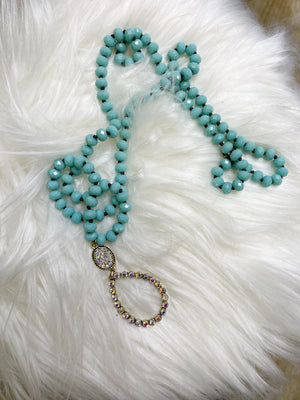 The Cypress Bead Necklace