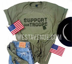 Support Our Troops - Olive - West Avenue