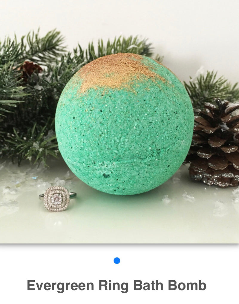 Evergreen Ring Bath Bomb - West Avenue