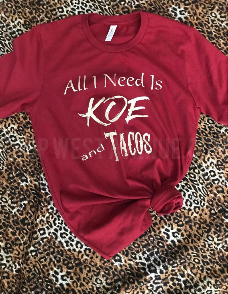 Koe & Tacos - West Avenue