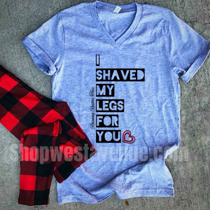 I Shaved My Legs - West Avenue