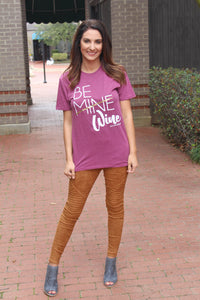Be Wine Tee - West Avenue