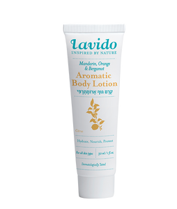 Mandarin Aromatic Body Lotion, 30ml Travel Size