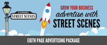 Street Scenes 1/8 Page (Business Card Size) Advertising Package