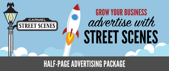 6) Street Scenes Half Page Advertising Package