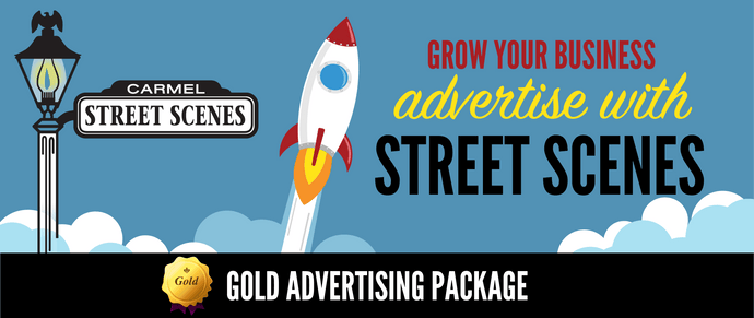 2) Street Scenes Gold Advertising Package
