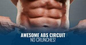 AWESOME ABS CIRCUIT- NO CRUNCHES!
