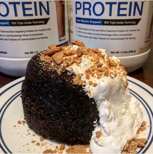 Modern Protein S'mores Lava Cake