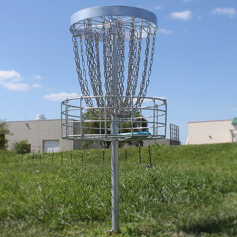 GrowTheSport Permanent Disc Golf Basket
