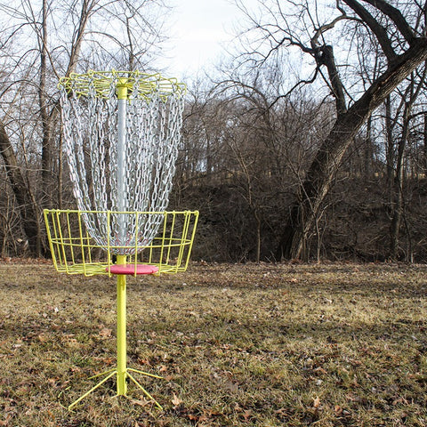 GrowTheSport 2.0 Portable Disc Golf Basket - (PRE-ORDER JULY)