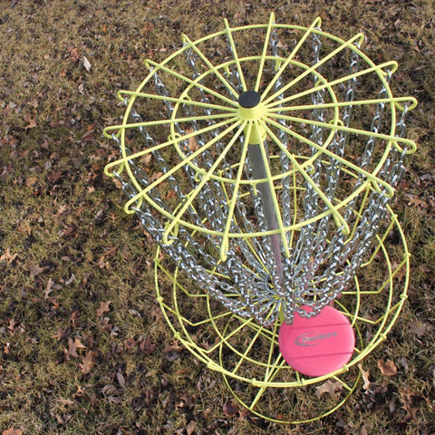 GrowTheSport 2.0 Portable Disc Golf Basket