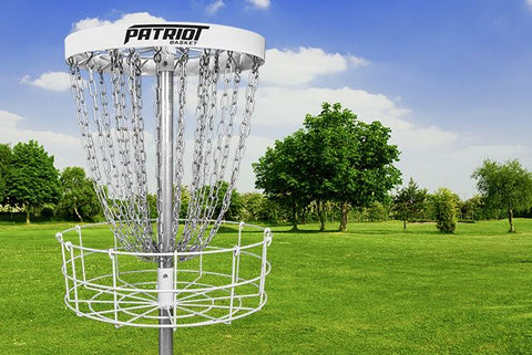 Dynamic Discs Patriot Portable Disc Golf Basket