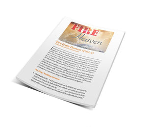 Fire From Heaven STUDY GUIDES - Part 4 (Set of 10)