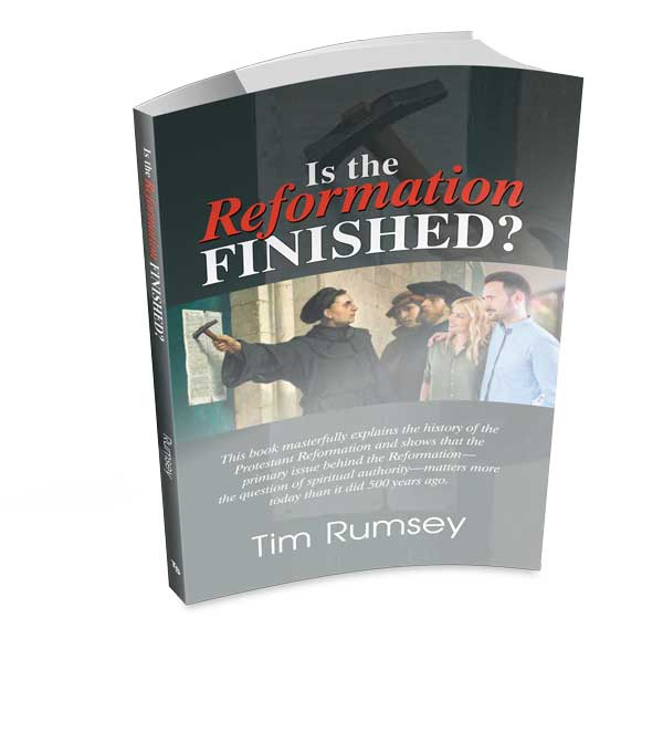 Is the Reformation Finished? (Book)