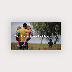 Sabbath Rest Business Card (Family Time)