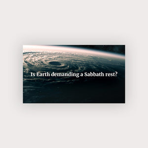 Sabbath Rest Business Card and Custom Offer Code - Pack of 500