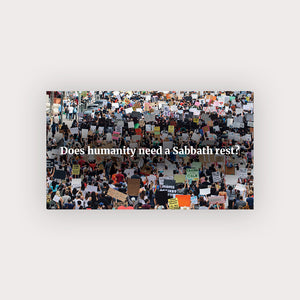 Sabbath Rest Business Card (Protesting)