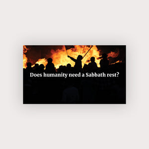 Sabbath Rest Business Card (Rioting)