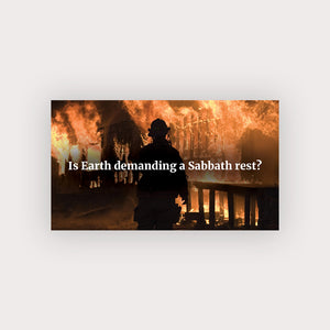 Sabbath Rest Business Card (Wildfire)