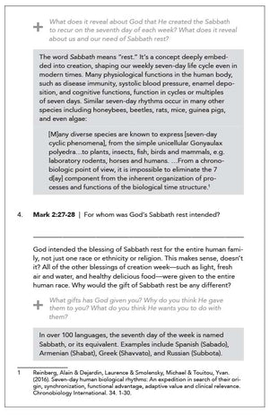 Sabbath Rest (Study Guides - Complete Set)