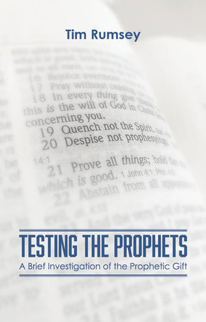 Testing the Prophets (Book)