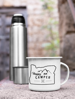 Printed 11oz camp Cup