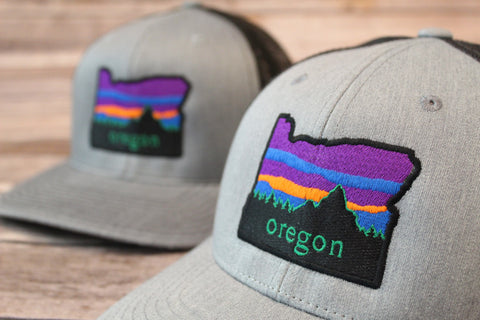 Oregon Sunset Hat