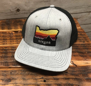 Oregon Sunset Trucker Snap Back