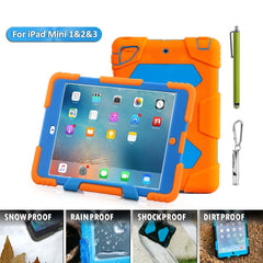 Aceguarder global design new products iPad mini 1&2&3 case snowproof waterproof dirtproof shockproof cover case