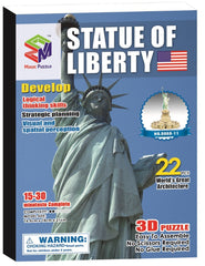Magic-puzzle 3D Puzzle, Statue of Liberty, 22 Pieces