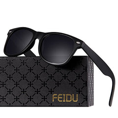 FEIDU Polarized Classic Retro Wayfarer Retro Sunglasses for Men Unisex FD 2149