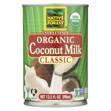 Native Forest Organic Classic - Coconut Milk - Case Of 12 - 13.5 Fl Oz.