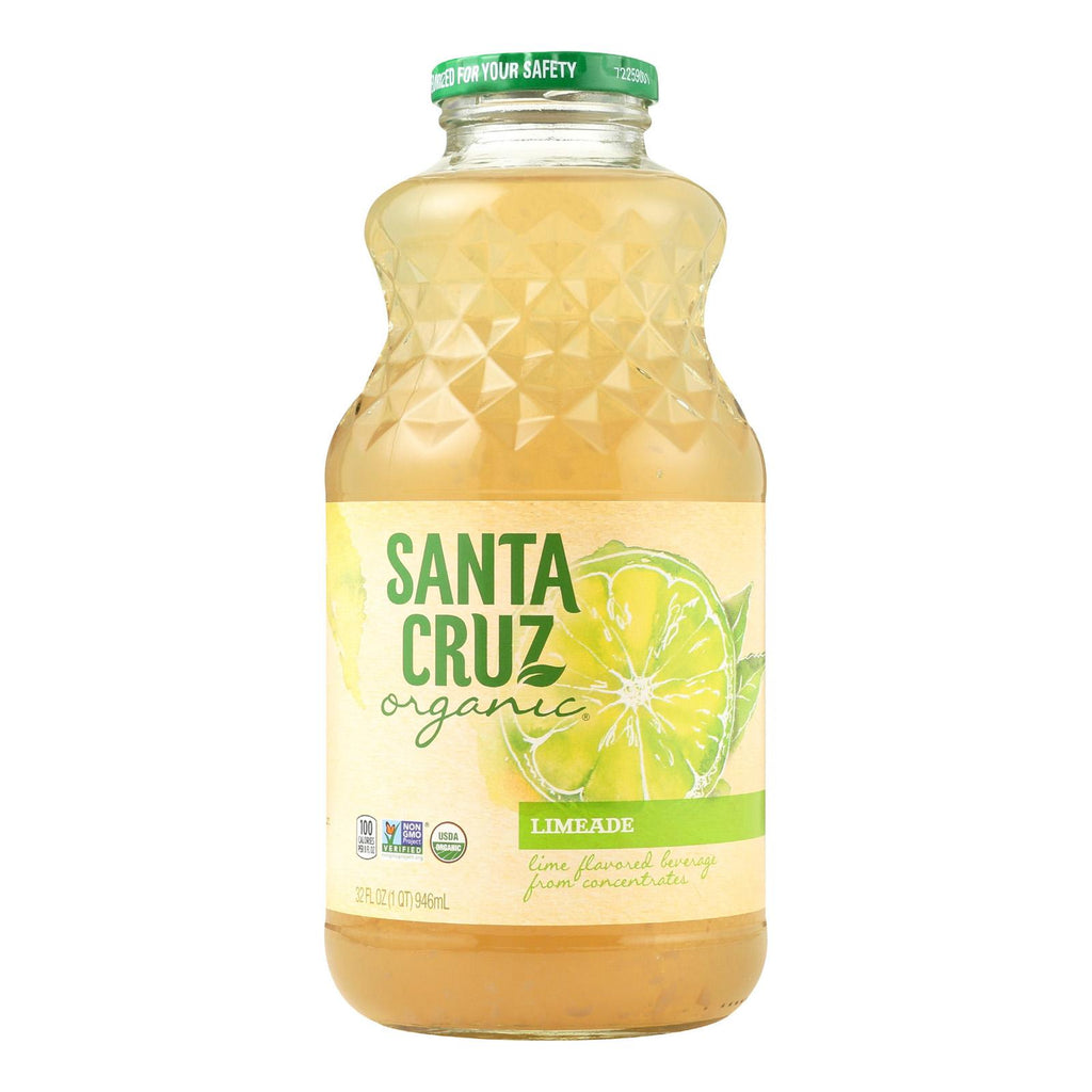 Santa Cruz Organic Juice - Limeade - Case Of 12 - 32 Fl Oz.