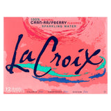 Lacroix Natural Sparkling Water - Cran-raspberry - Case Of 2 - 12 Fl Oz.
