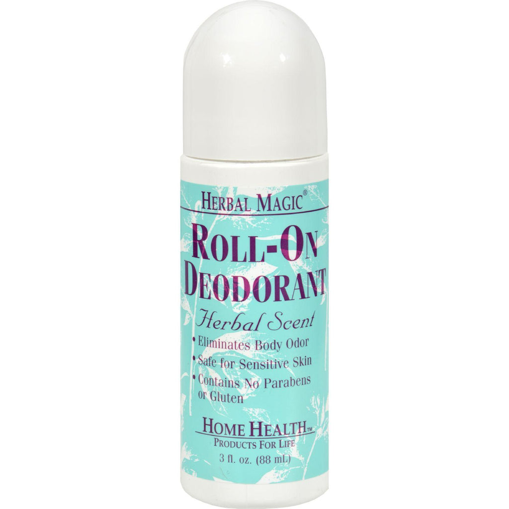 Home Health Roll-on Deodorant Herbal Scent - 3 Fl Oz