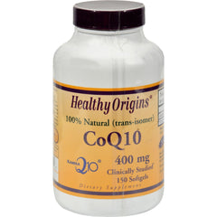 Healthy Origins Coq10 Gels 400 Mg - 150 Softgels