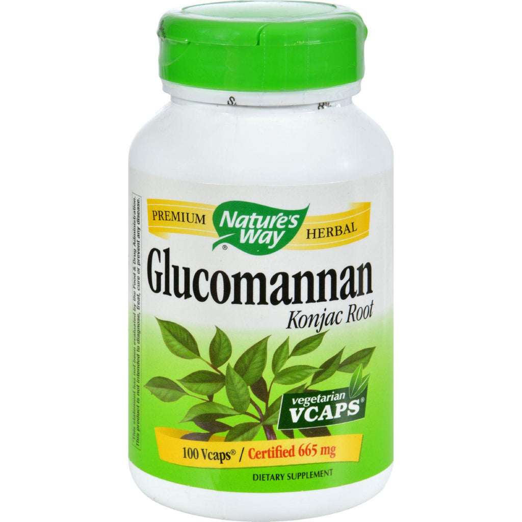 Nature's Way Glucomannan Root - 100 Capsules