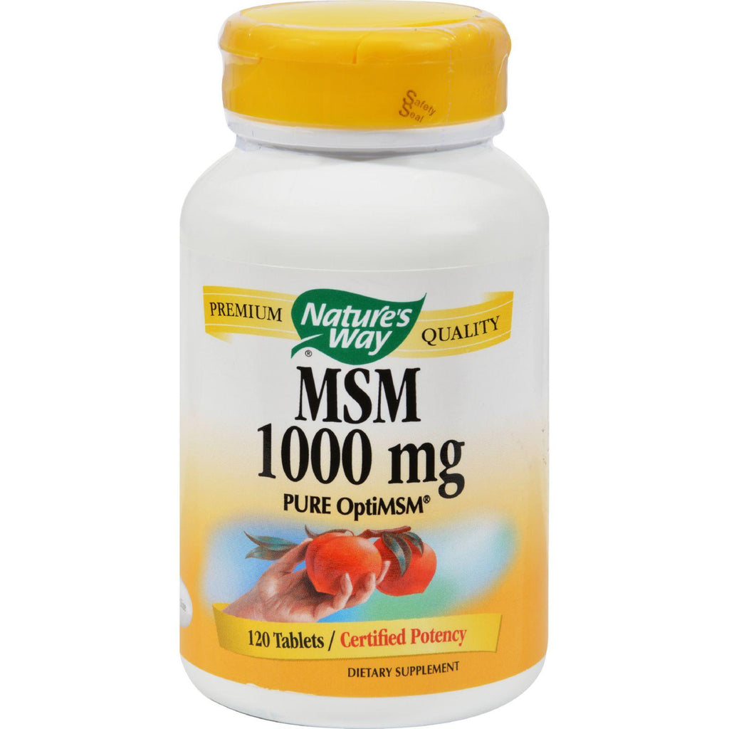 Nature's Way Msm - 1000 Mg - 120 Tablets