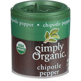 Simply Organic Chipotle Pepper - Organic - Ground - .57 Oz - Case Of 6