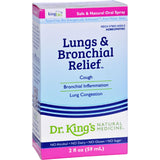 King Bio Homeopathic - Lungs And Bronchial Relief - 2 Oz