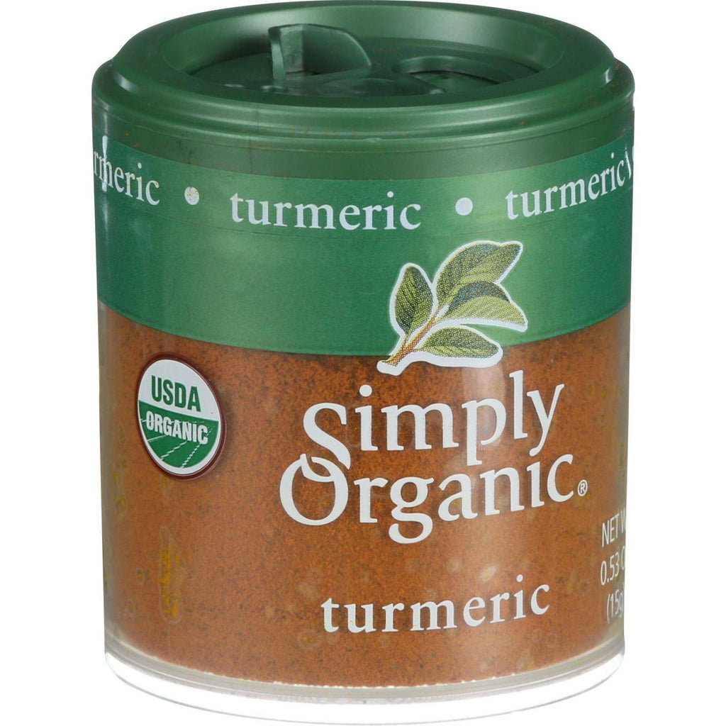 Simply Organic Turmeric Root - Organic - Ground - .53 Oz - Case Of 6
