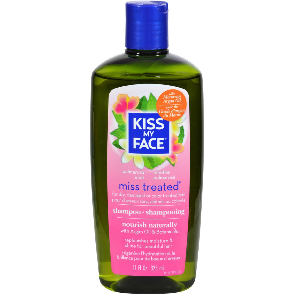 Kiss My Face Miss Treated Shampoo Palmarosa Mint - 11 Fl Oz