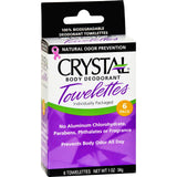 Crystal Body Deodorant Towelettes - 6 Towelettes