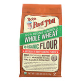 Bob's Red Mill Organic Whole Wheat Flour - 5 Lb - Case Of 4